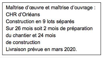 CHR d'Orléans : Pose de la 1ère pierre du nouvel EHPAD du Pôle Personnes âgées