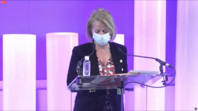 Brigitte Bourguignon, ministre déléguée chargée de l'Autonomie. © Capture d'écran