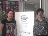 Stéphanie Moretti et Audrey Carlin, IDEC et ASCo de la Résidence L'Arc-en-Ciel de Tullins-Fures. ©DR