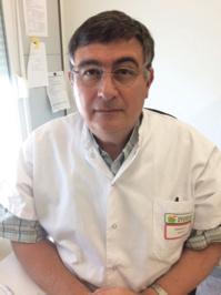 Le Dr Philippe Carenco, chef du service d'hygiène hospitalière du Centre Hospitalier de Hyères et président de la Blanchisserie Inter-Hospitalière du Var. ©DR