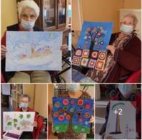 Plus de 2 000 résidents de maisons de retraite participent au grand concours de peinture 2021 de Retraite Plus