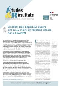 Covid-19: «Trois EHPAD sur quatre ont eu un résident infecté au cours de l'année 2020»