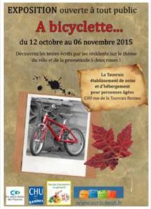 CHU de Rennes : les personnes âgées exposent leurs écrits