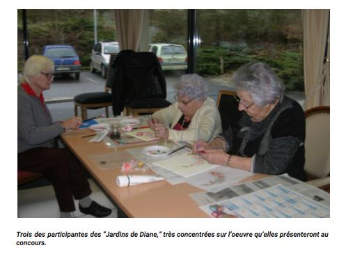 Un grand succès pour le concours de peinture en EHPAD et résidences seniors