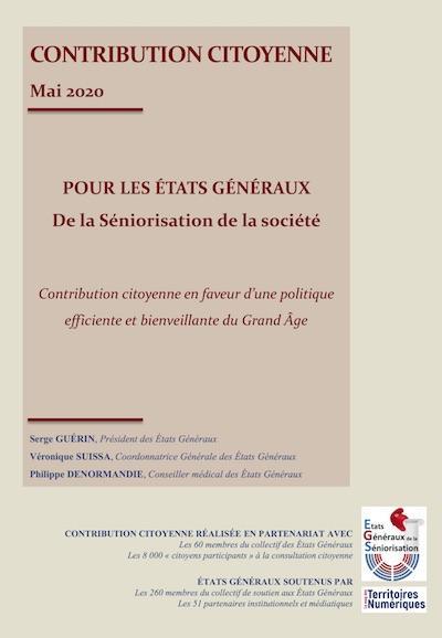 © États généraux de la séniorisation de la société.