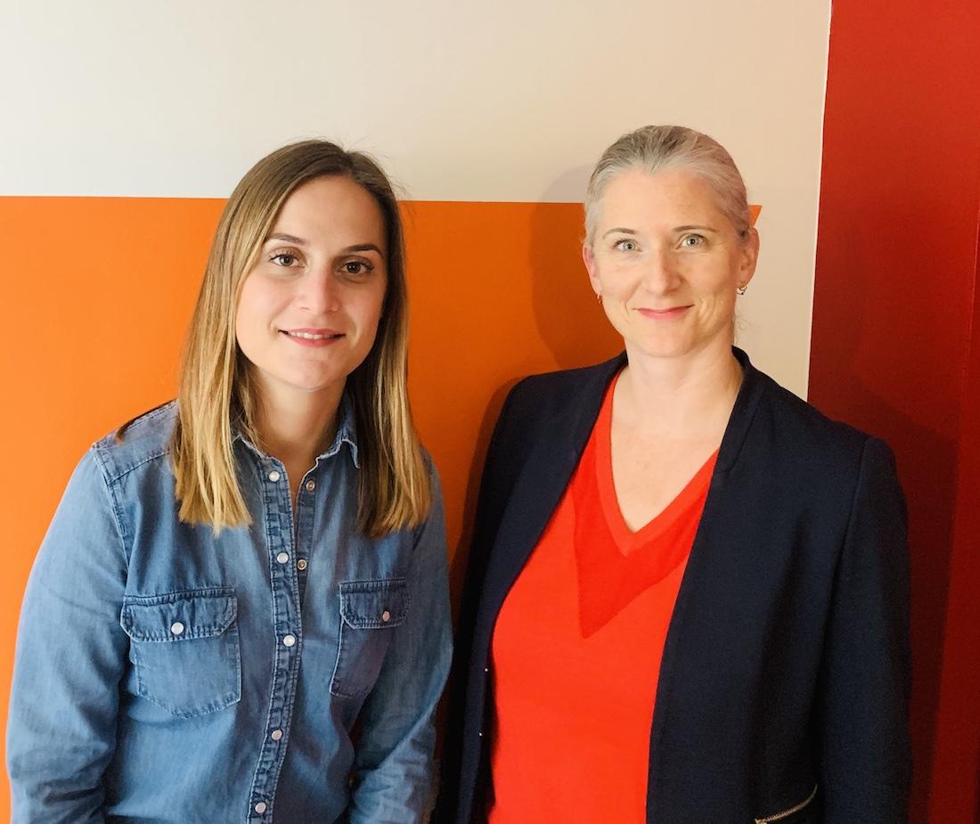 Élise Proult et Caroline Martinaud, auteures des deux rapports de l'ANAP sur la mutualisation des IDE et l'hébergement temporaire. ©DR