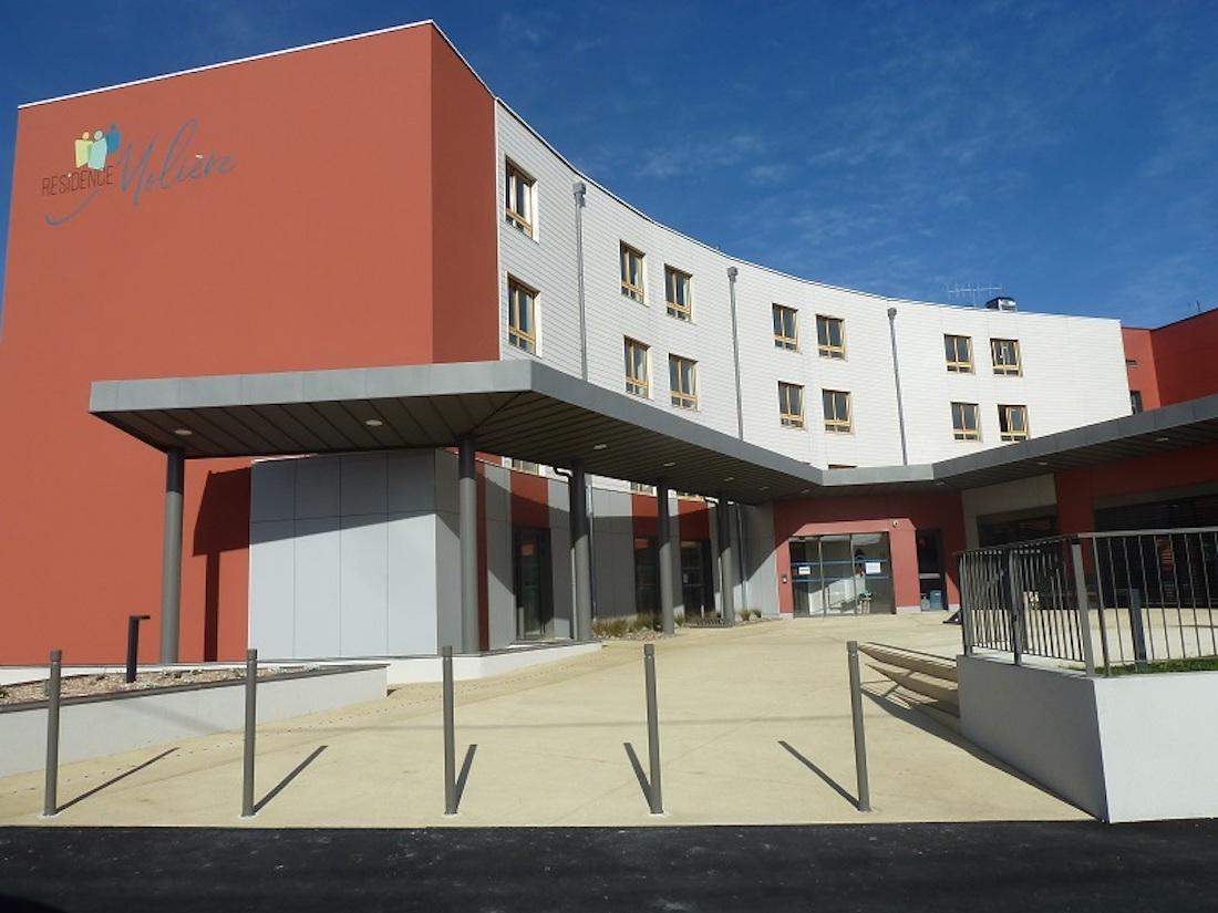L'EHPAD Résidence Molière se situe à Thouars, dans les Deux-Sèvres. ©DR