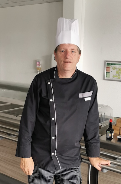 Patrick Petit, chef des cuisines de la clinique  et des EHPAD Sainte-Élisabeth de Yutz.  ©DR