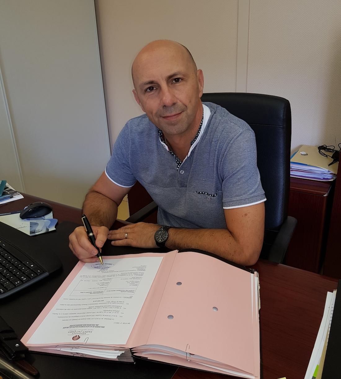 Didier Carles, directeur de la résidence Saint-Jacques Grenades-Cadours. ©DR