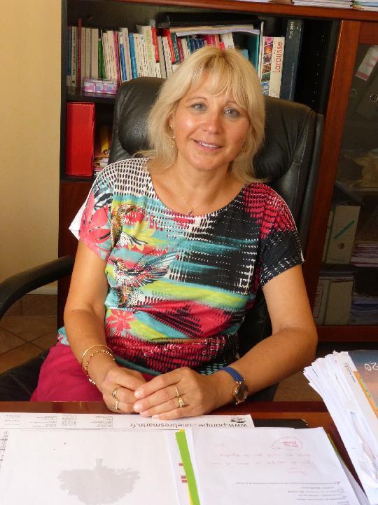 Hélène Guéry, directrice de la Résidence Esther Lerouge. ©DR