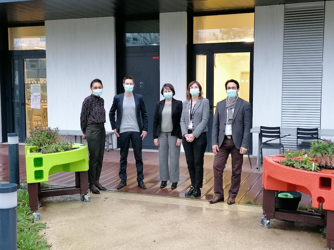 L'équipe de direction du groupe SEGA. ©DR