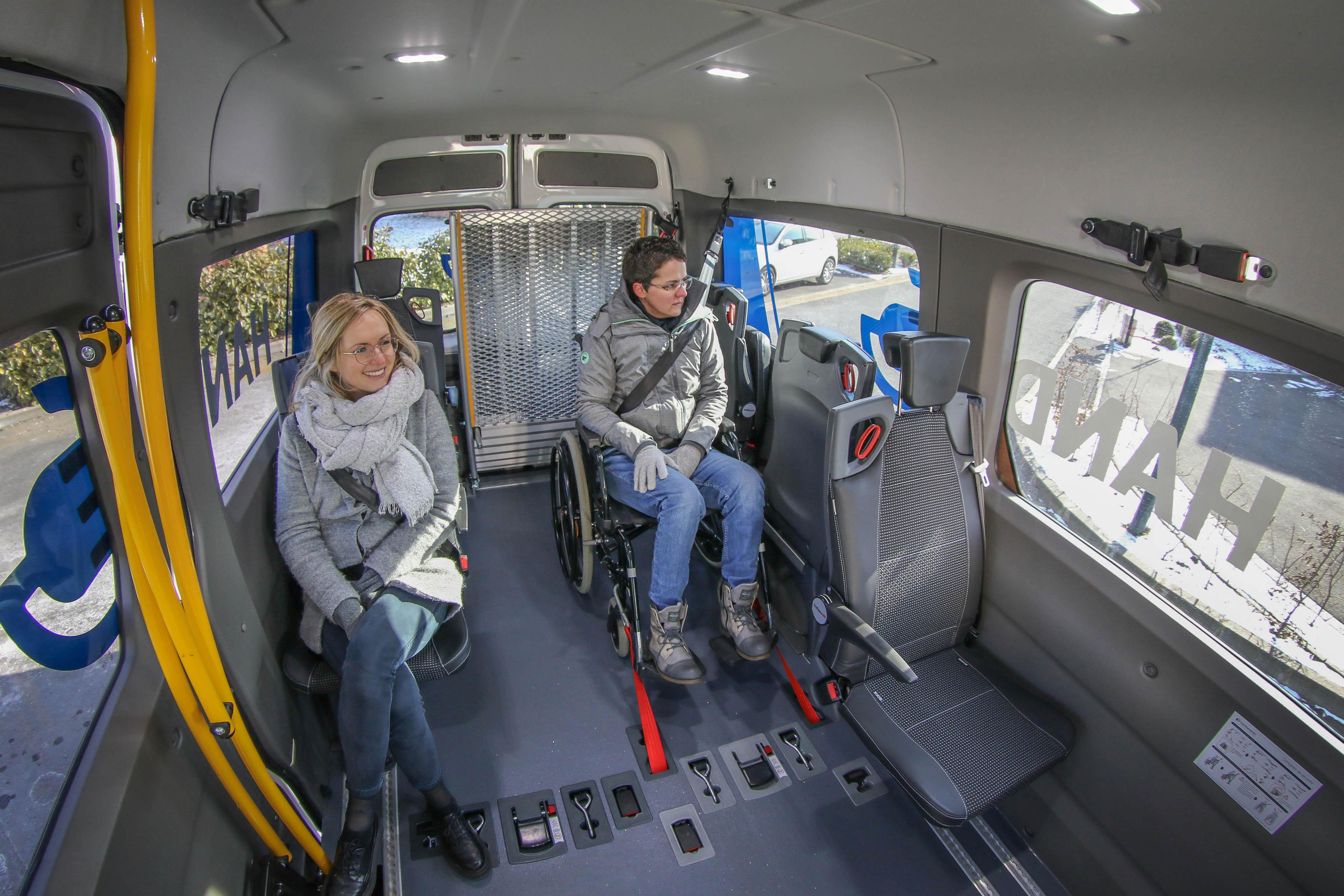 Handynamic continue de développer une gamme de véhicules TPMR électriques