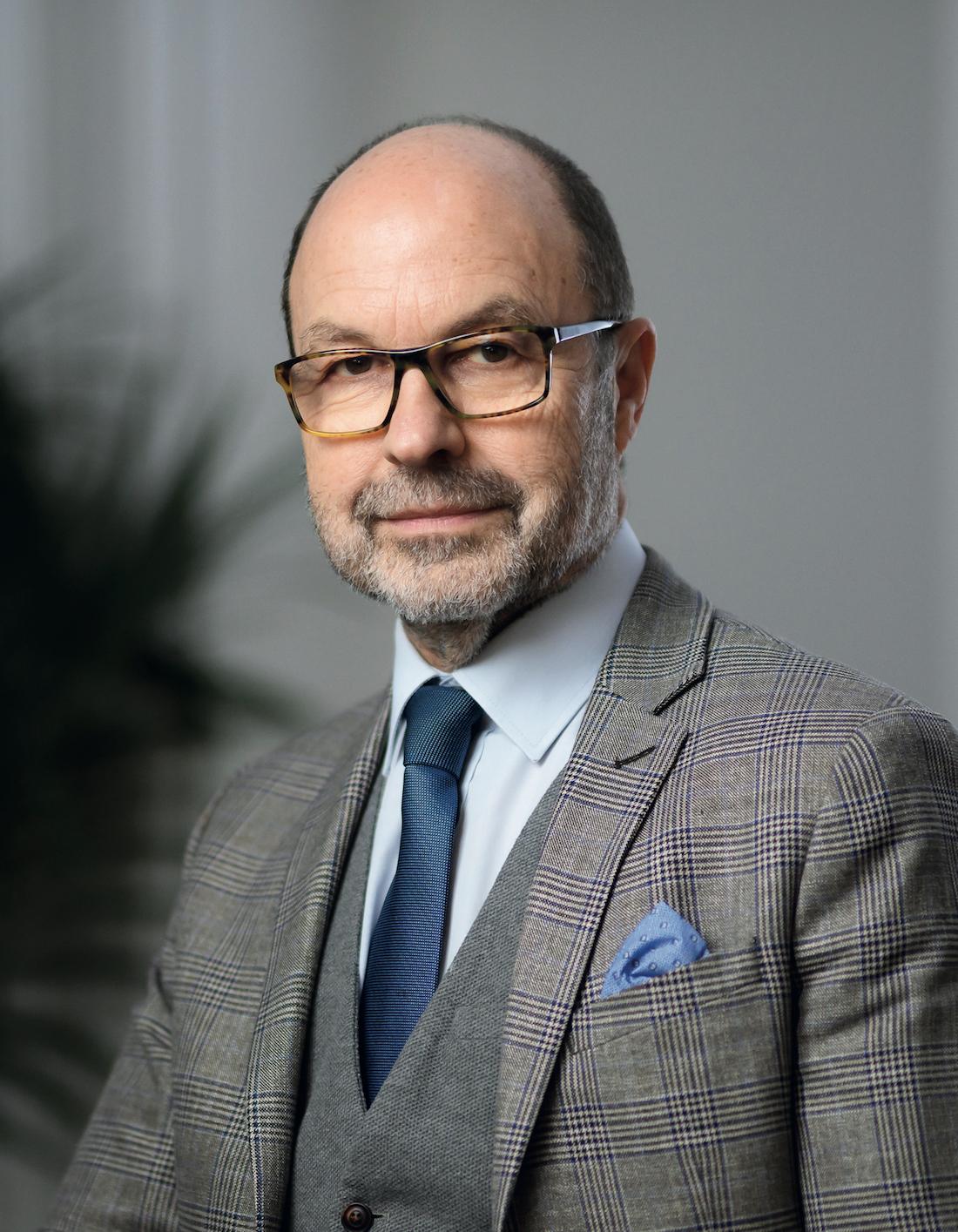 Dominique Bourgine, président fondateur d'Adef Résidences. ©DR