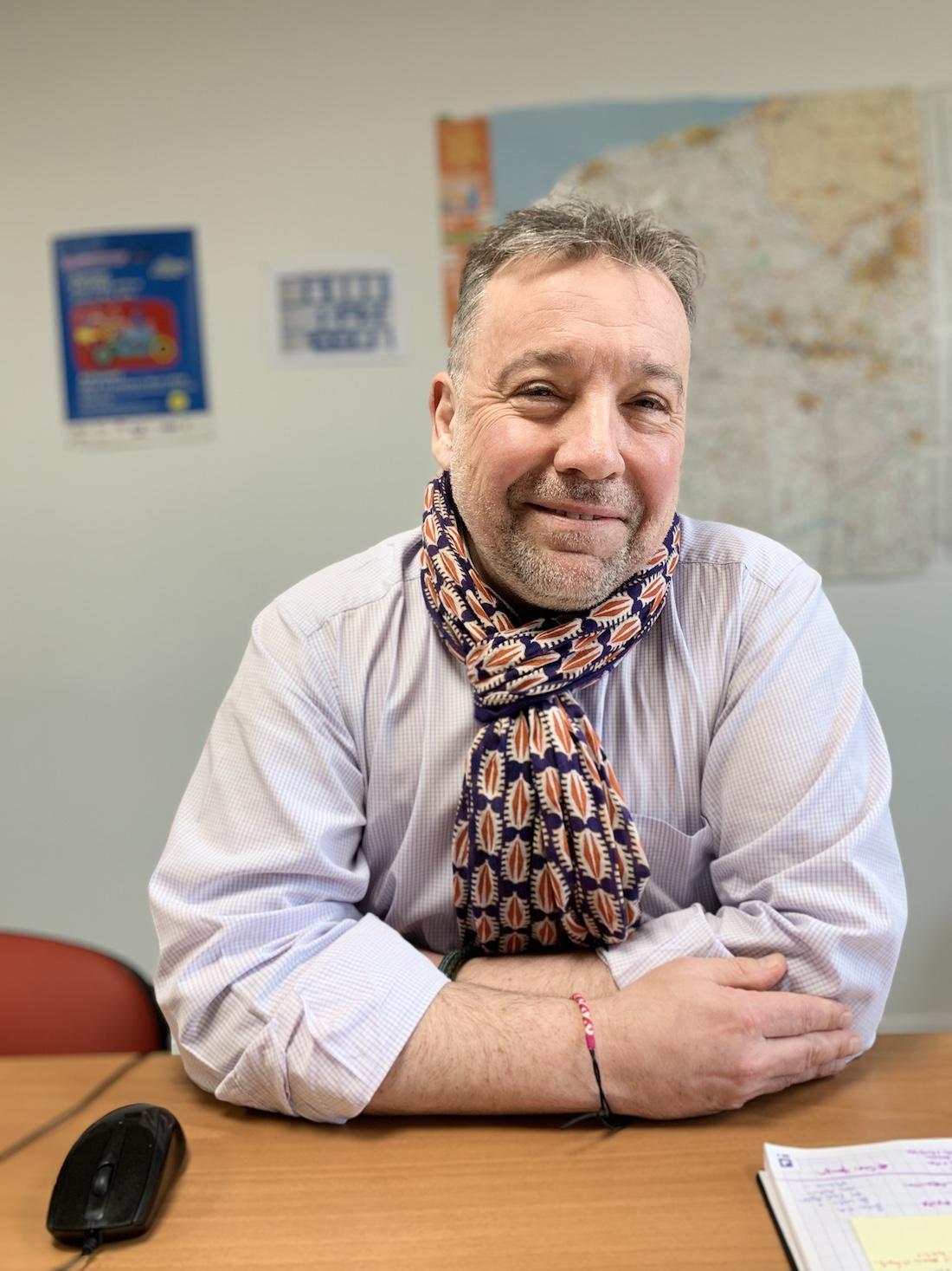 Éric Batcave, directeur du pôle médico-social pour le groupe AHNAC. ©DR
