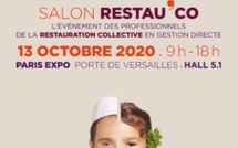 Le Salon Restau'Co 2020 décalé au 13 octobre 2020